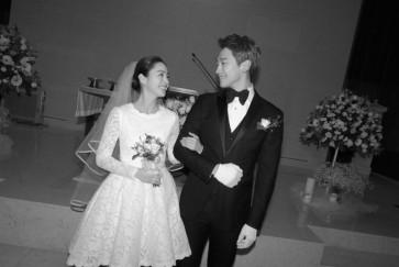 Kim Tae-hee chooses custom-made dress over branded designs