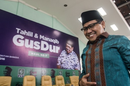 Muhaimin reelected as PKB chairman