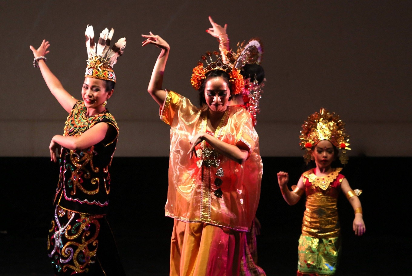 Choreographed by Josh Marcy, the piece showcased the beauty of diversity. JP/ Seto Wardhana