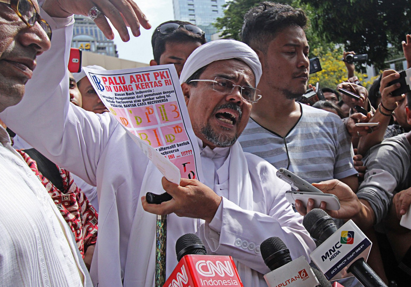 FPI leader calls for withdrawal of  banknotes with 'communist symbol'
