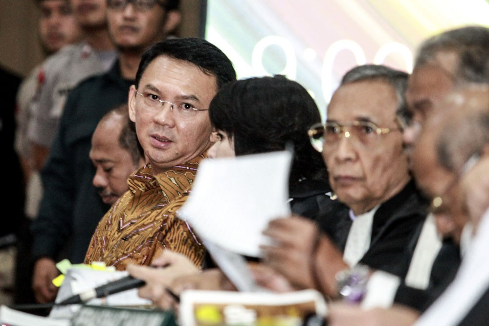 Ahok perceived least likely to benefit pluralism: Survey