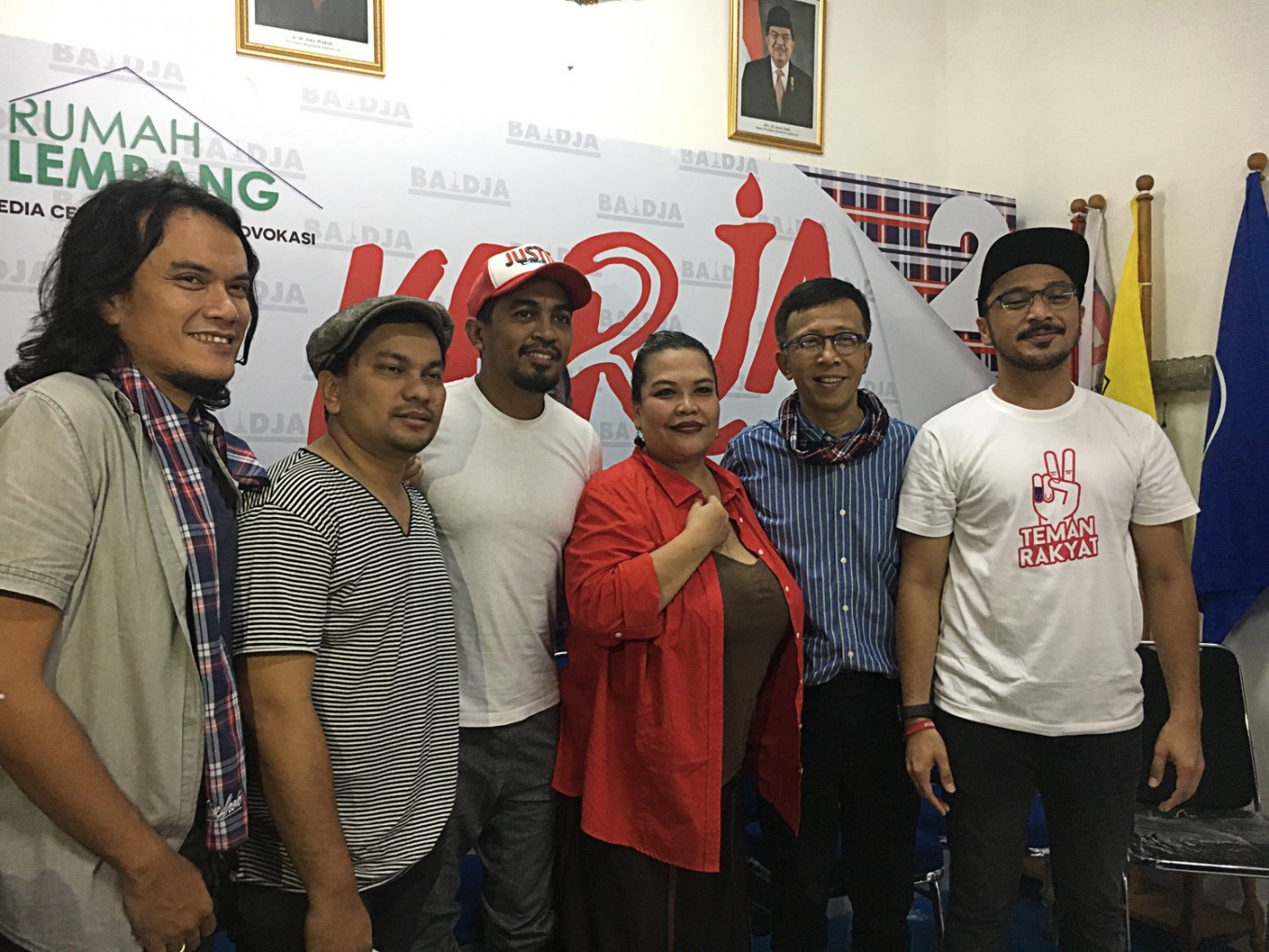 Renowned musicians launch song in support of Ahok