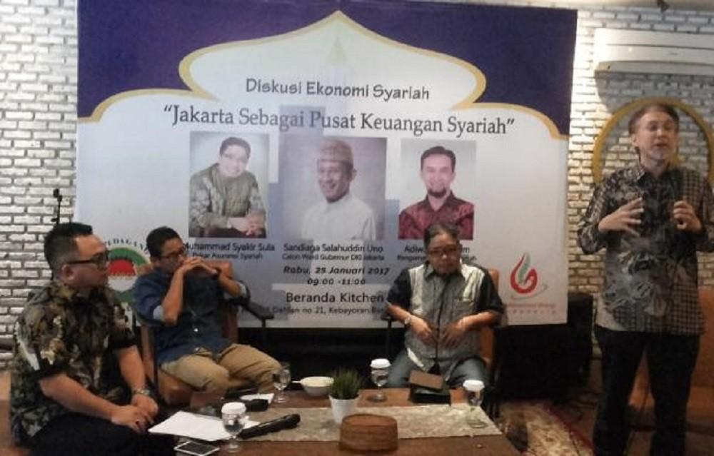 Government mulls setting up sharia economic zone in Jakarta