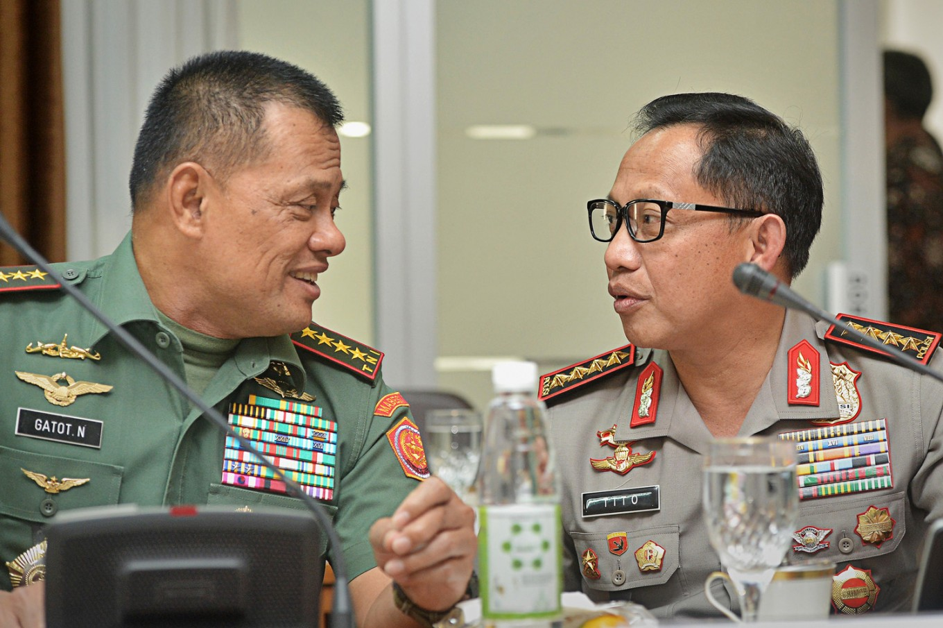 TNI and Police chiefs to be summoned over treason spat