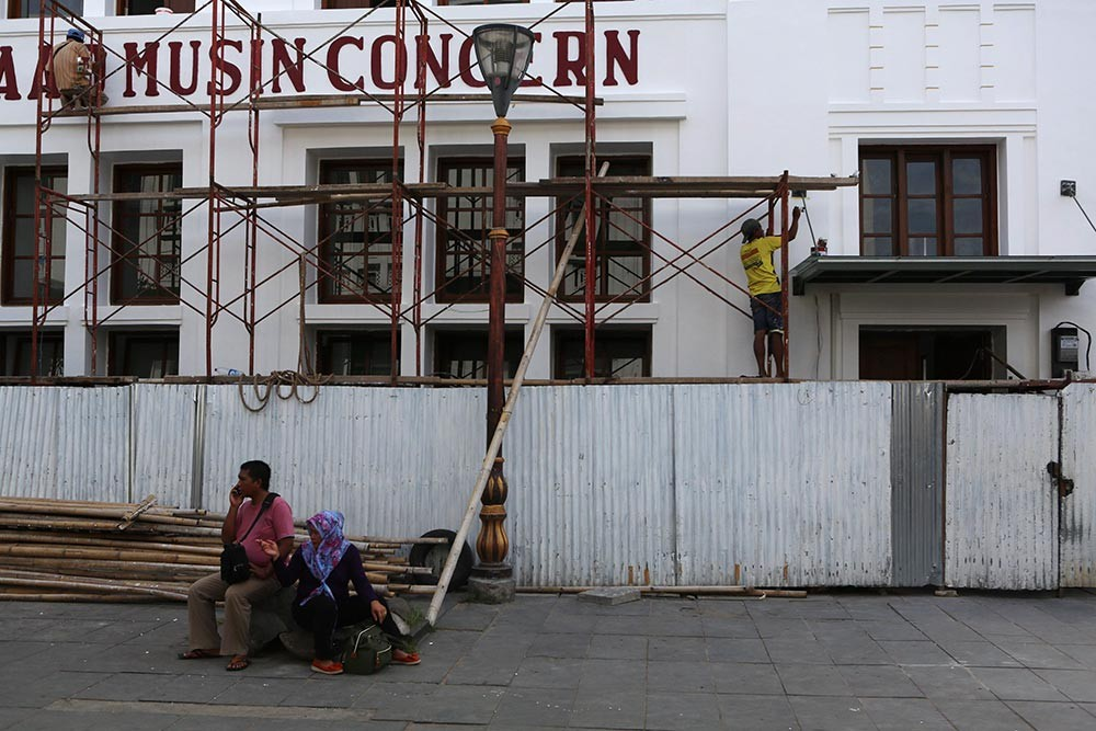City seeks to buy historic buildings in Kota Tua