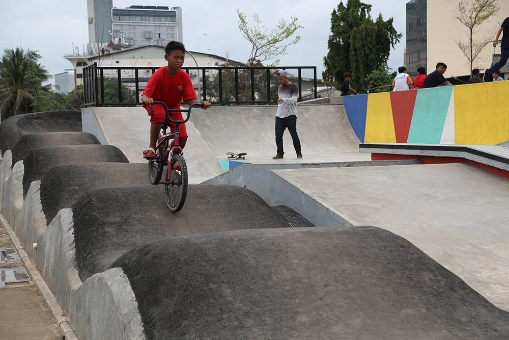 Art, cultural activities added to RPTRA in Central Jakarta
