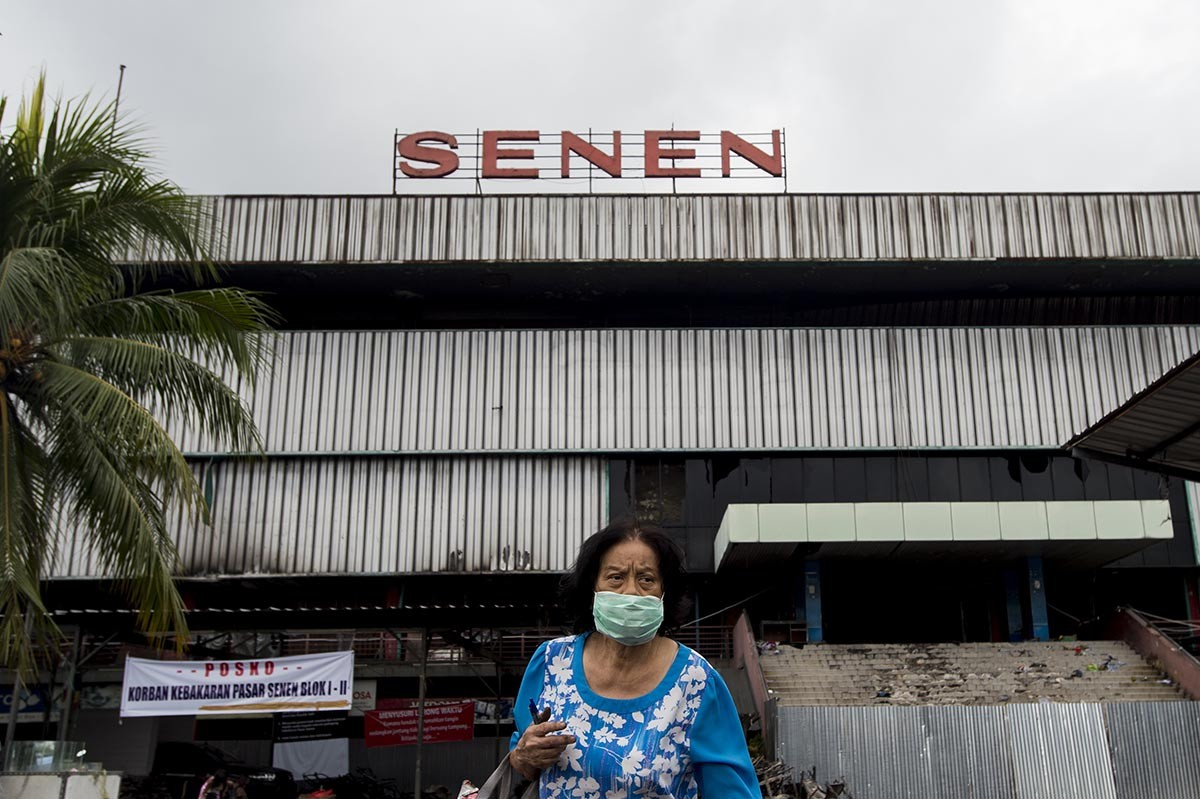 Apartments to be built in Senen Market