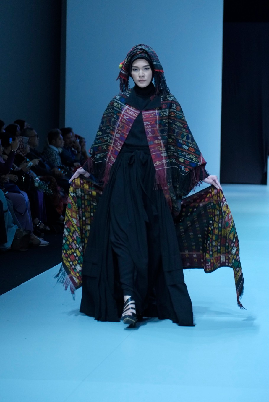 Another piece from the collection of Muslim fashion designer Ida Royani. (JP/Jerry Adiguna).