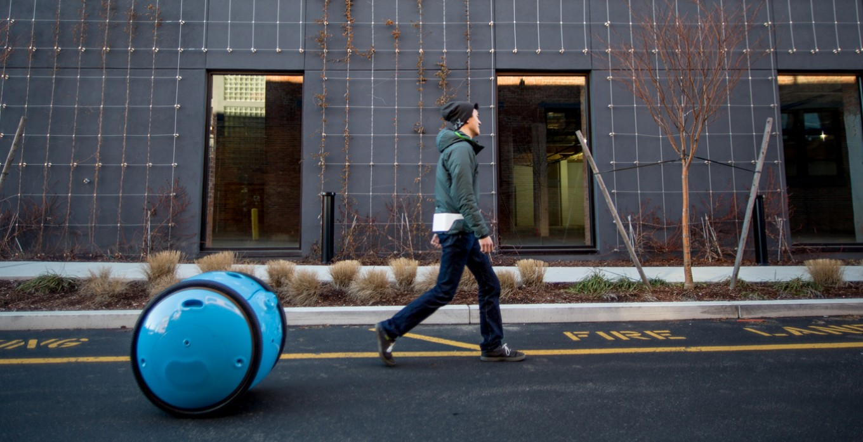 Piaggio Gita, a robotic personal helper