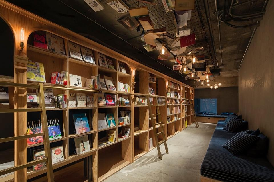 Tokyo's library-themed hotel haven for bookworms