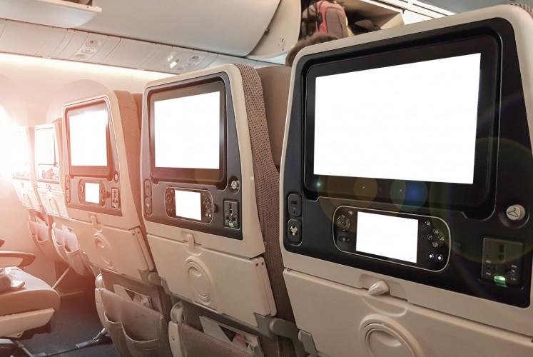 Your in-flight movie screen is going extinct