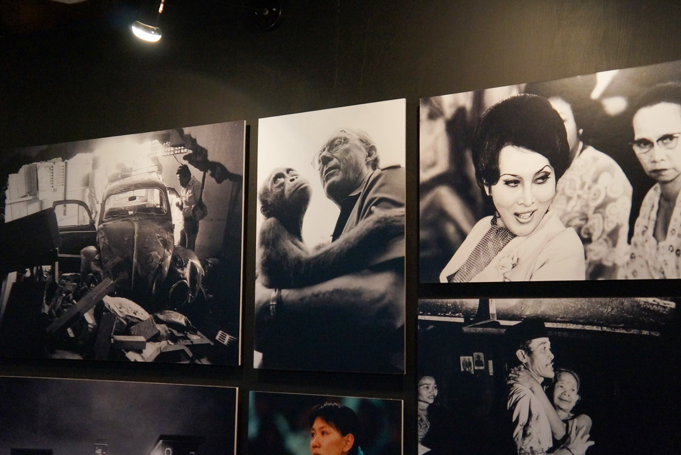 Kartono Ryadi's works are displayed in Kompas' first photography festival. (JP/Masajeng Rahmiasri)