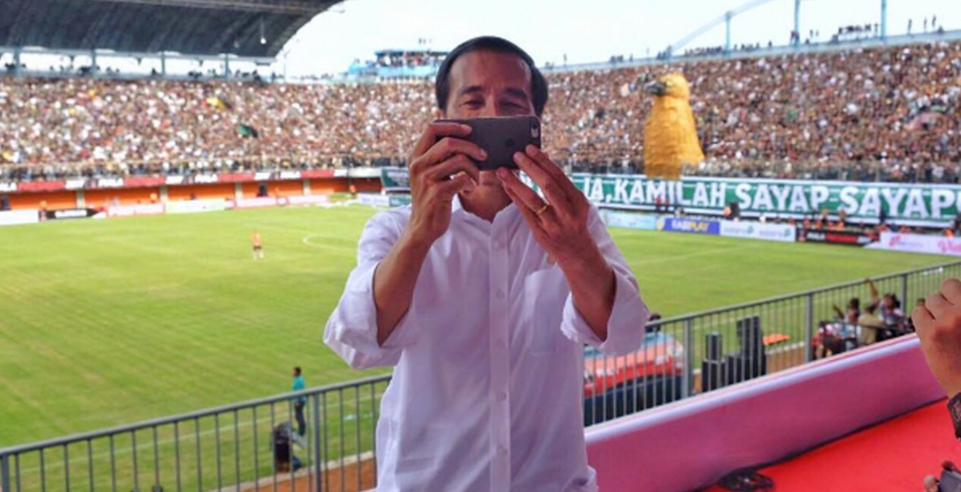 New vlogger in town: President Joko Widodo