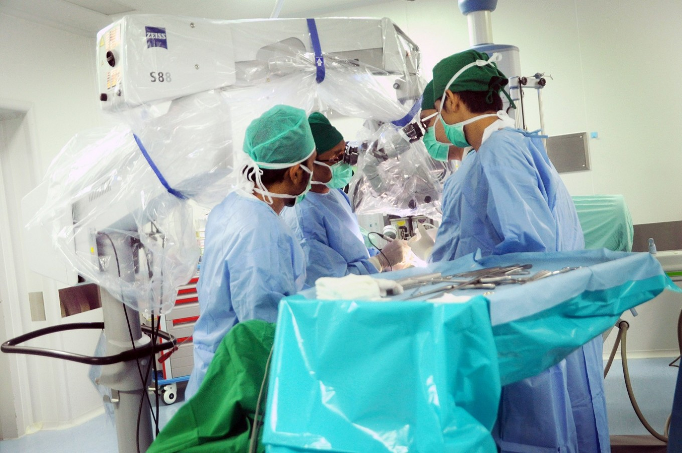 'One day stand up, next day go home' with microsurgery