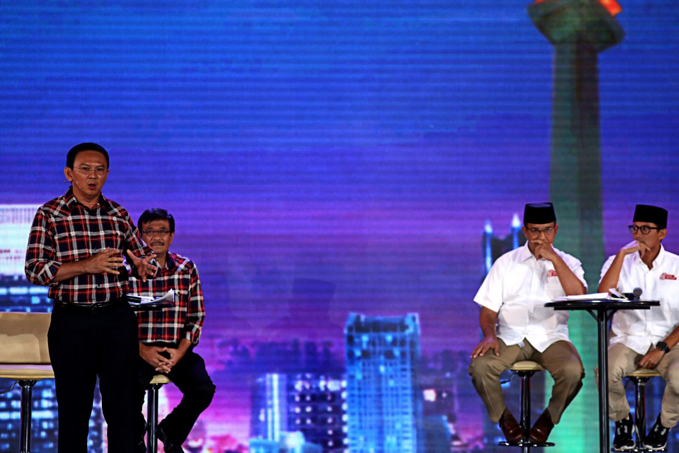 Jakarta election debate to be held on April 12