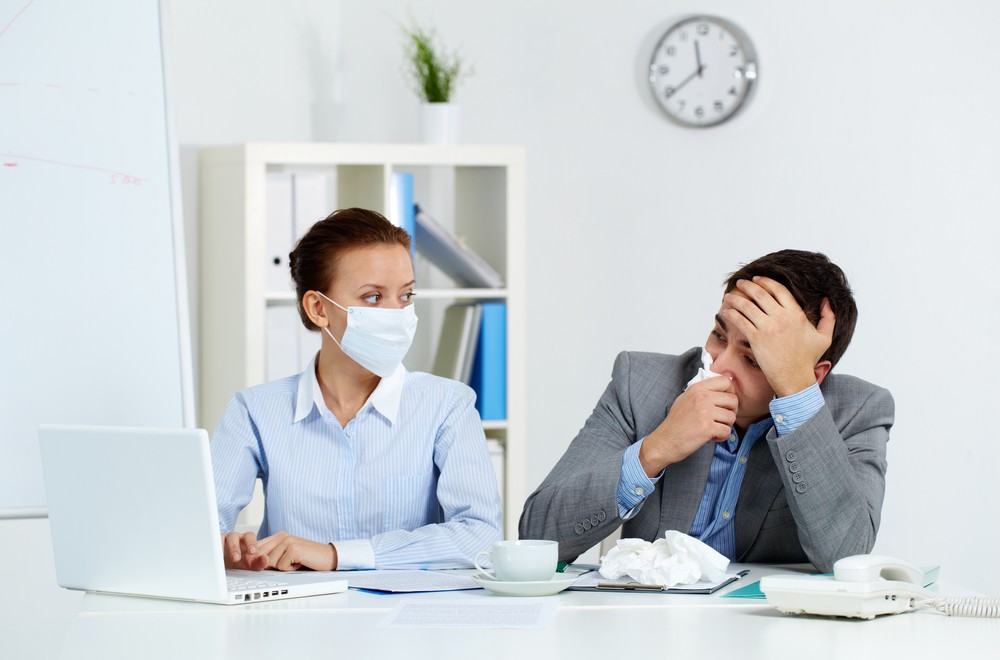 Why you shouldn't go to work when you're sick