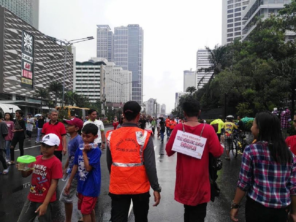 Jakarta administration imposes stern measures against littering