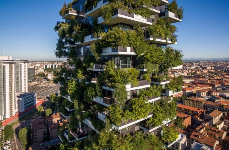 Asia's first vertical forest to be built in China