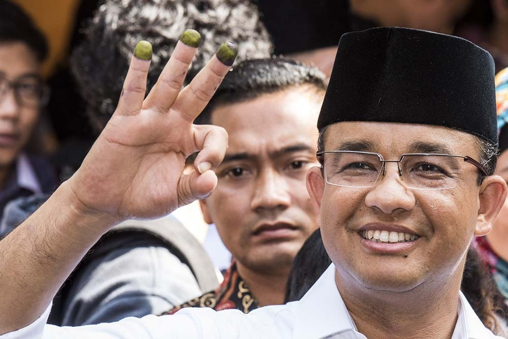 Anies' camp: Exit polls show Jakartans want change in leadership