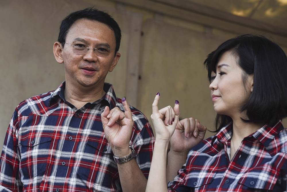 Teman Ahok may not participate in second round campaign