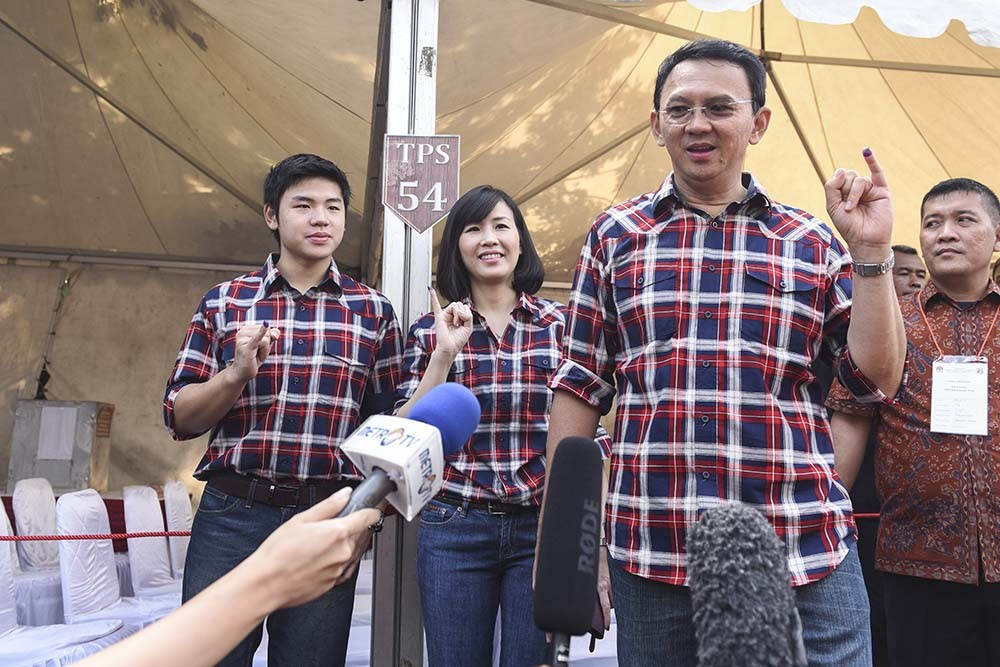 PDI-P accuses poll administrators of preventing Ahok supporters from voting