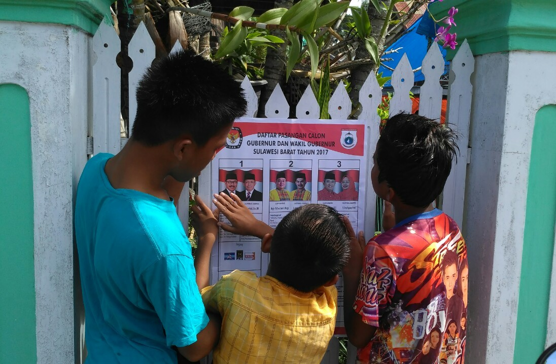 Two tickets claim victory in West Sulawesi