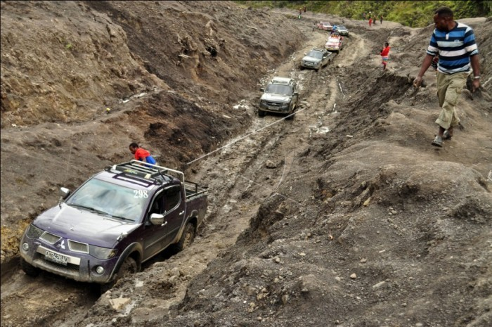 Government disburses Rp 18.54b trillion for trans-Papua highway
