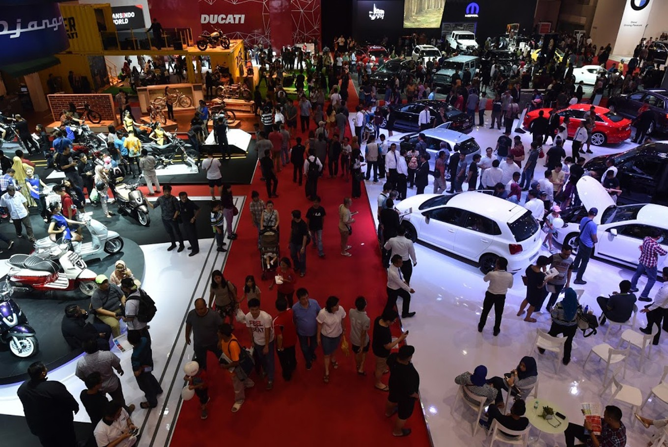 Jakarta motor show to extend into cyberspace this year