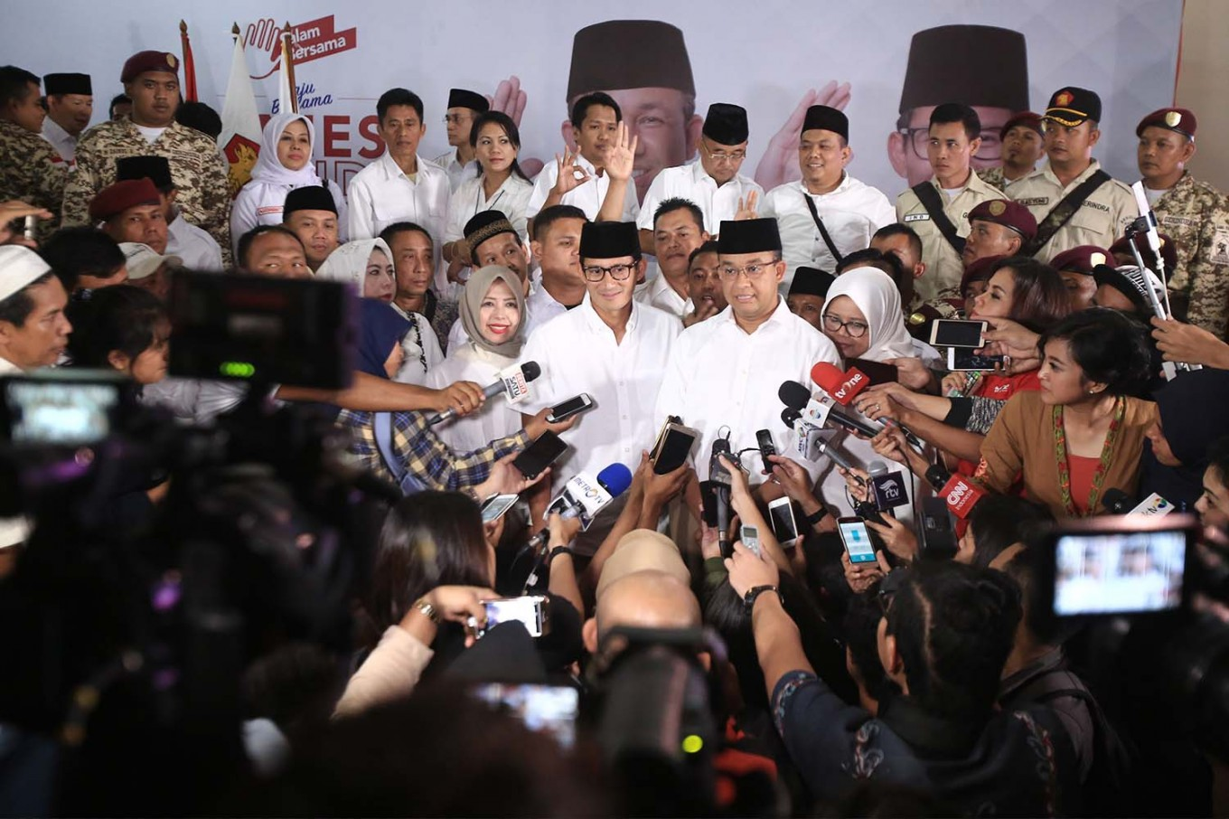 PPP politicians declare support for Anies-Sandiaga