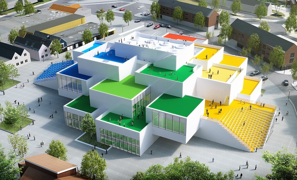 Real Life Lego House Life Size Lego House To Open In Denmark News The Jakarta Post