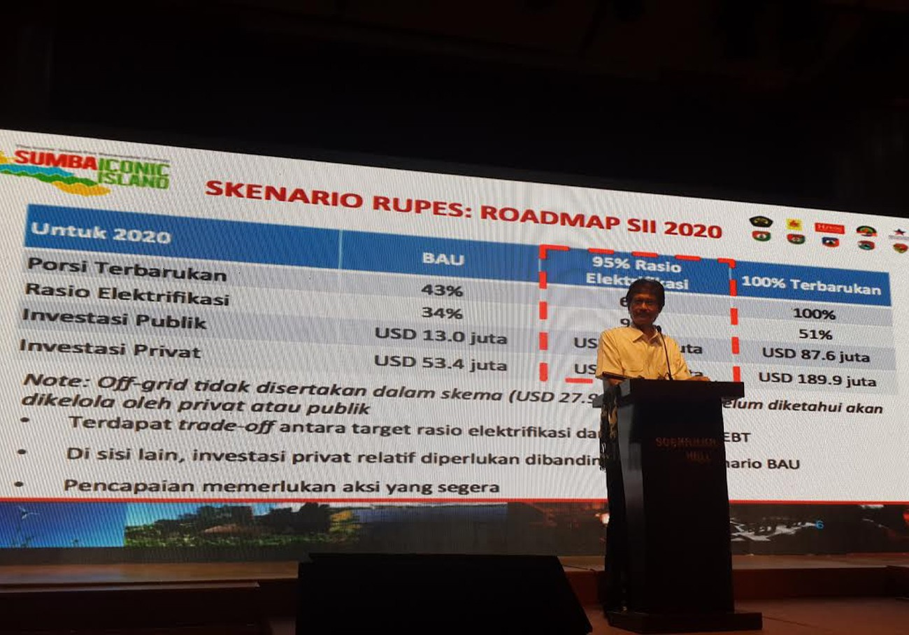 Investors sought for green energy projects on Sumba Island