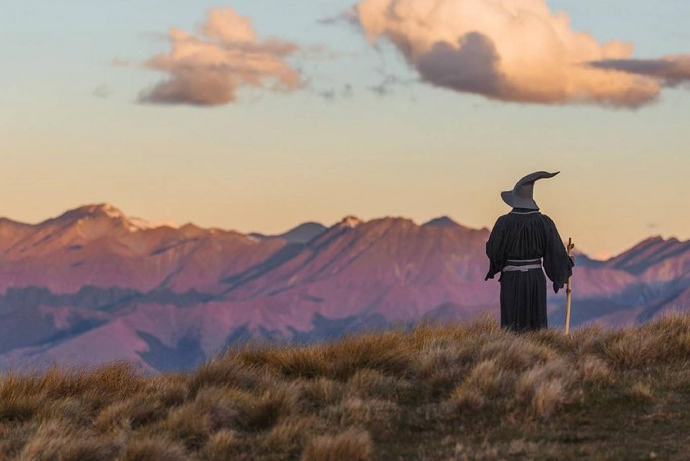 Gandalf the Grey wanders through New Zealand with amateur photographer