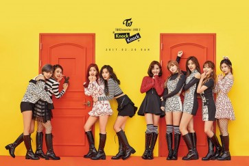 Twice tops charts with 'Knock Knock'