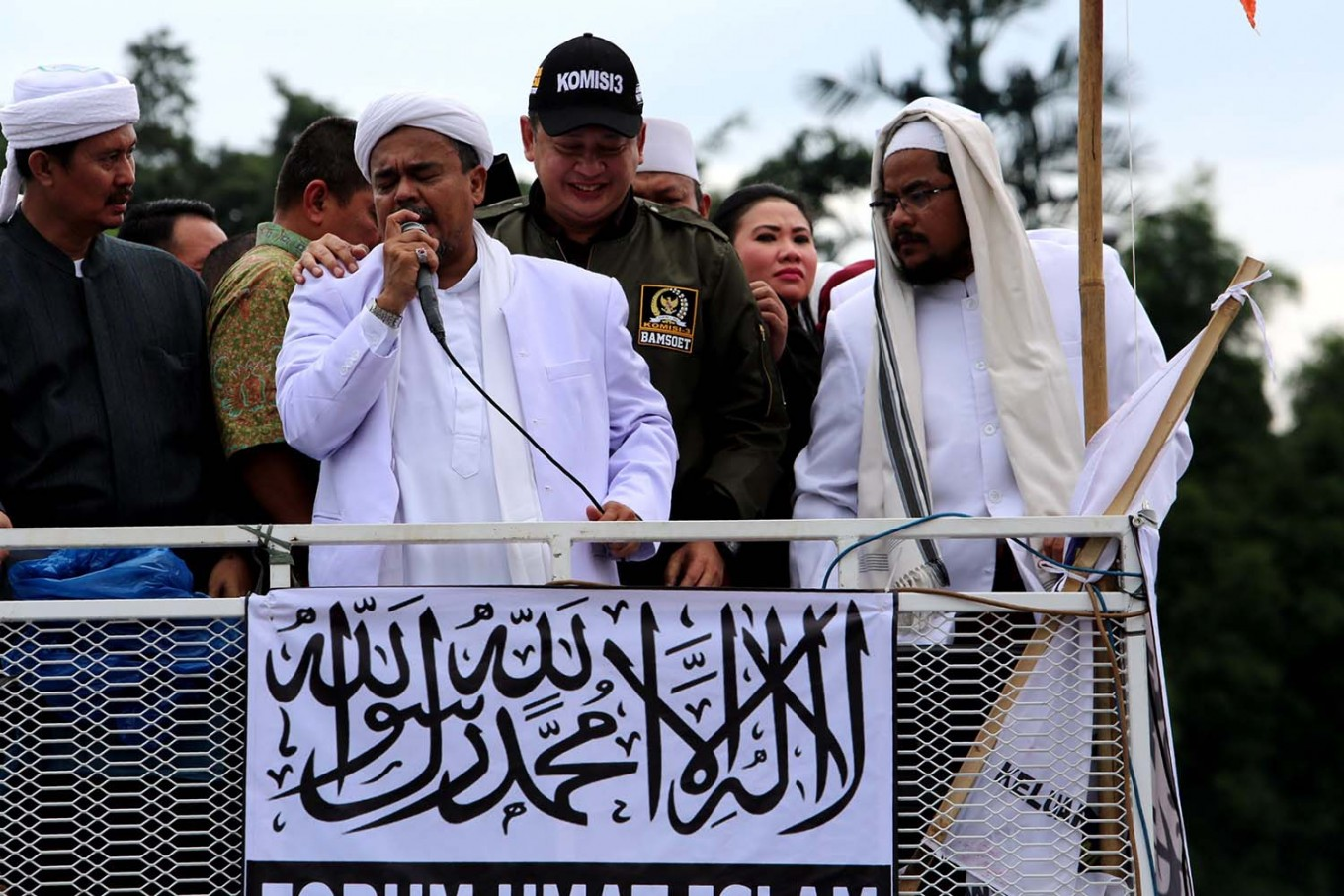 Rizieq is in Jeddah: Police