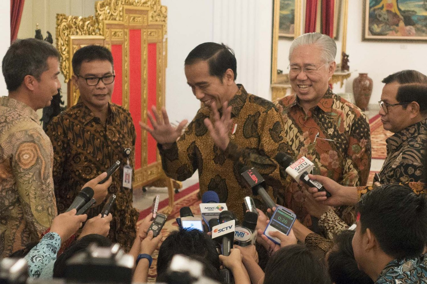 Jokowi signs election bill into law