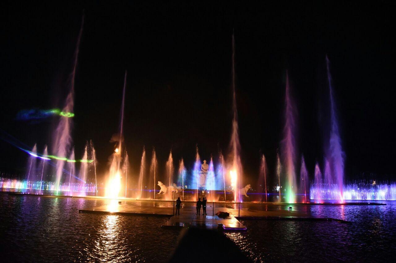 Sri Baduga Fountain Park promotes 'diversity'