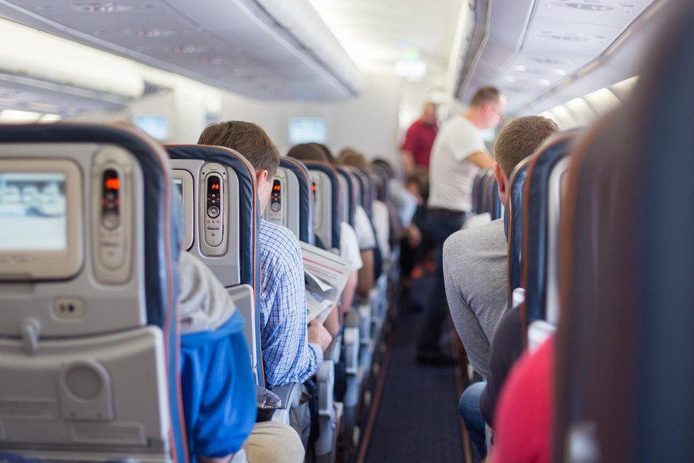 Five things not to do on an airplane to reduce germ exposure