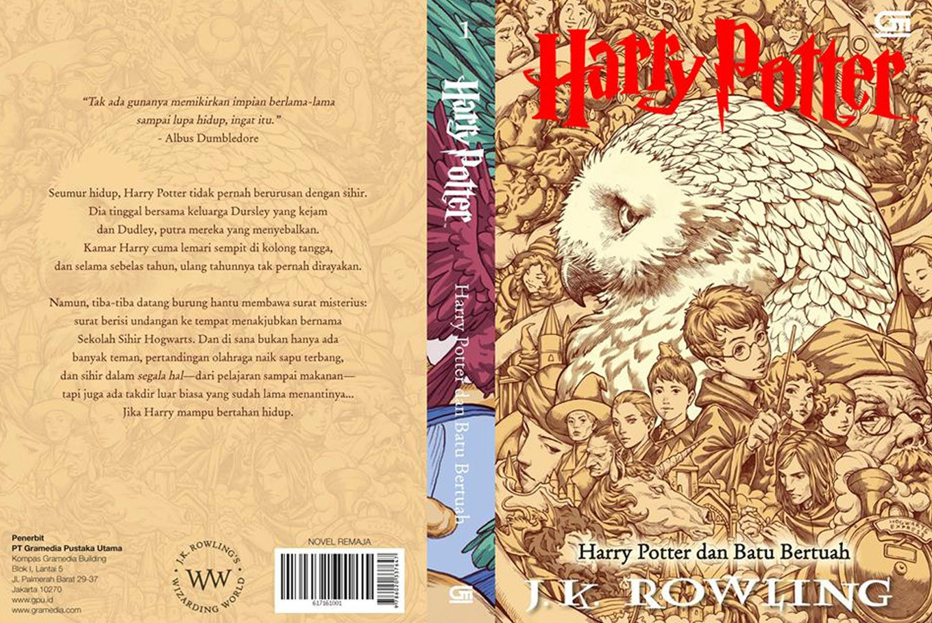 Harry Potter Book Cover Country : Indonesia to have own version of 'harry potter book cover