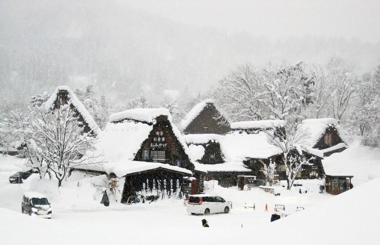 Shirakawa-go, a fairytale land