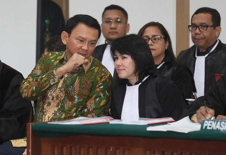 Rizieq claims Ahok's speech intentionally blasphemous