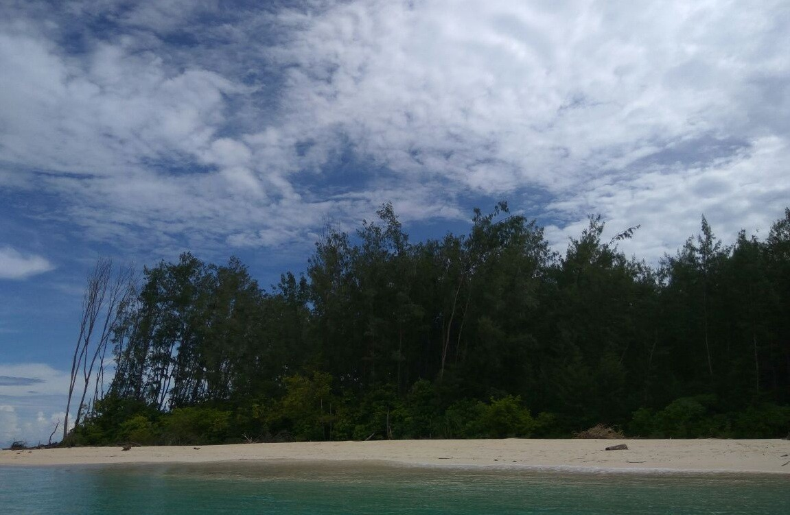 Tourists pretend Gorontalo's islands are Gilligan's Island