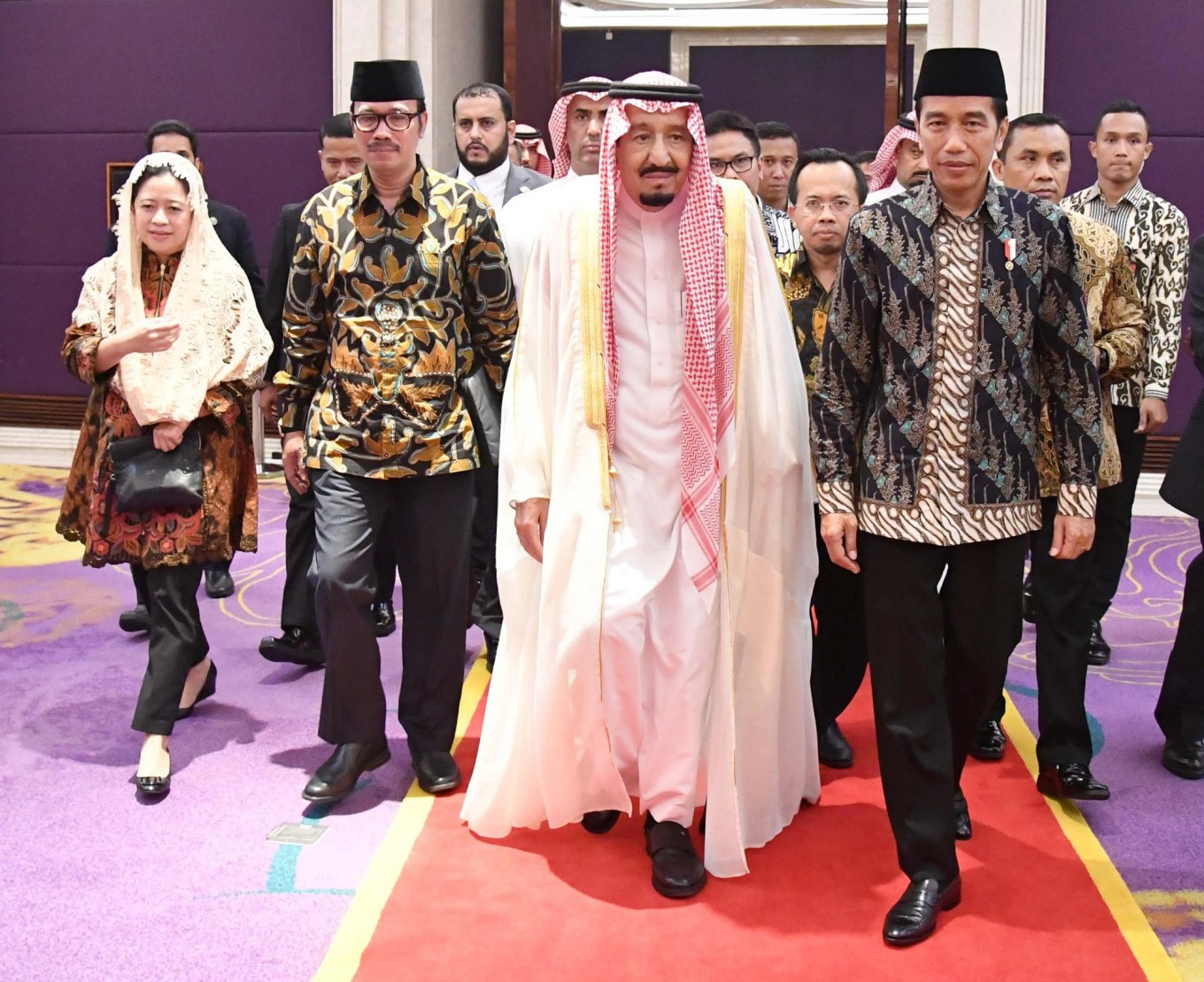 Jokowi let down by S. Arabia's low investment