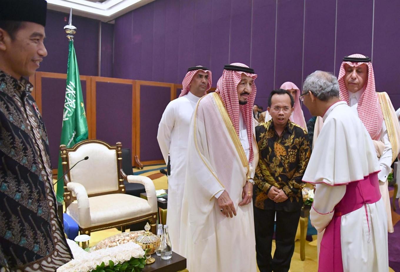 King lauds Indonesia's tolerance