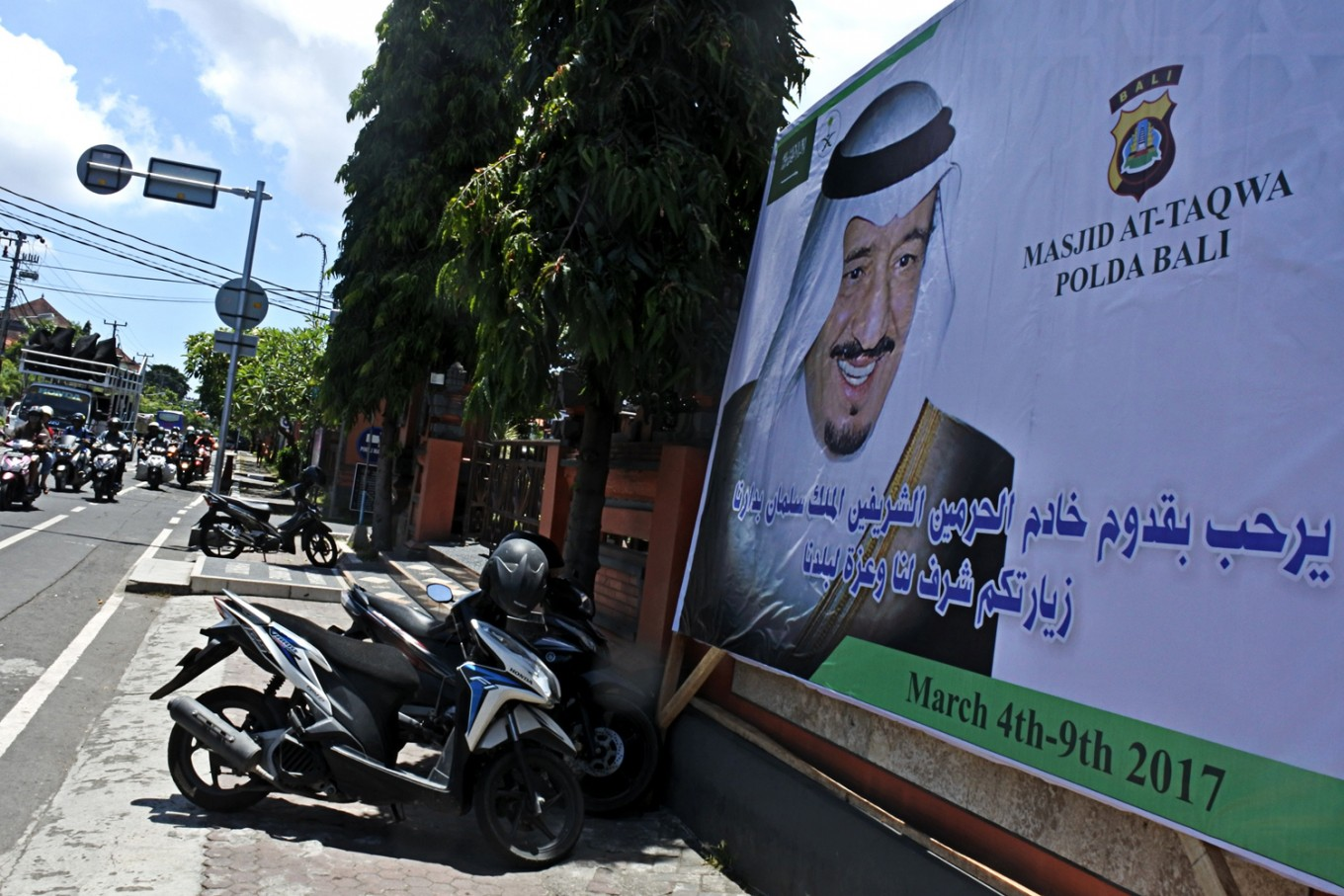 King Salman extends holiday in Bali