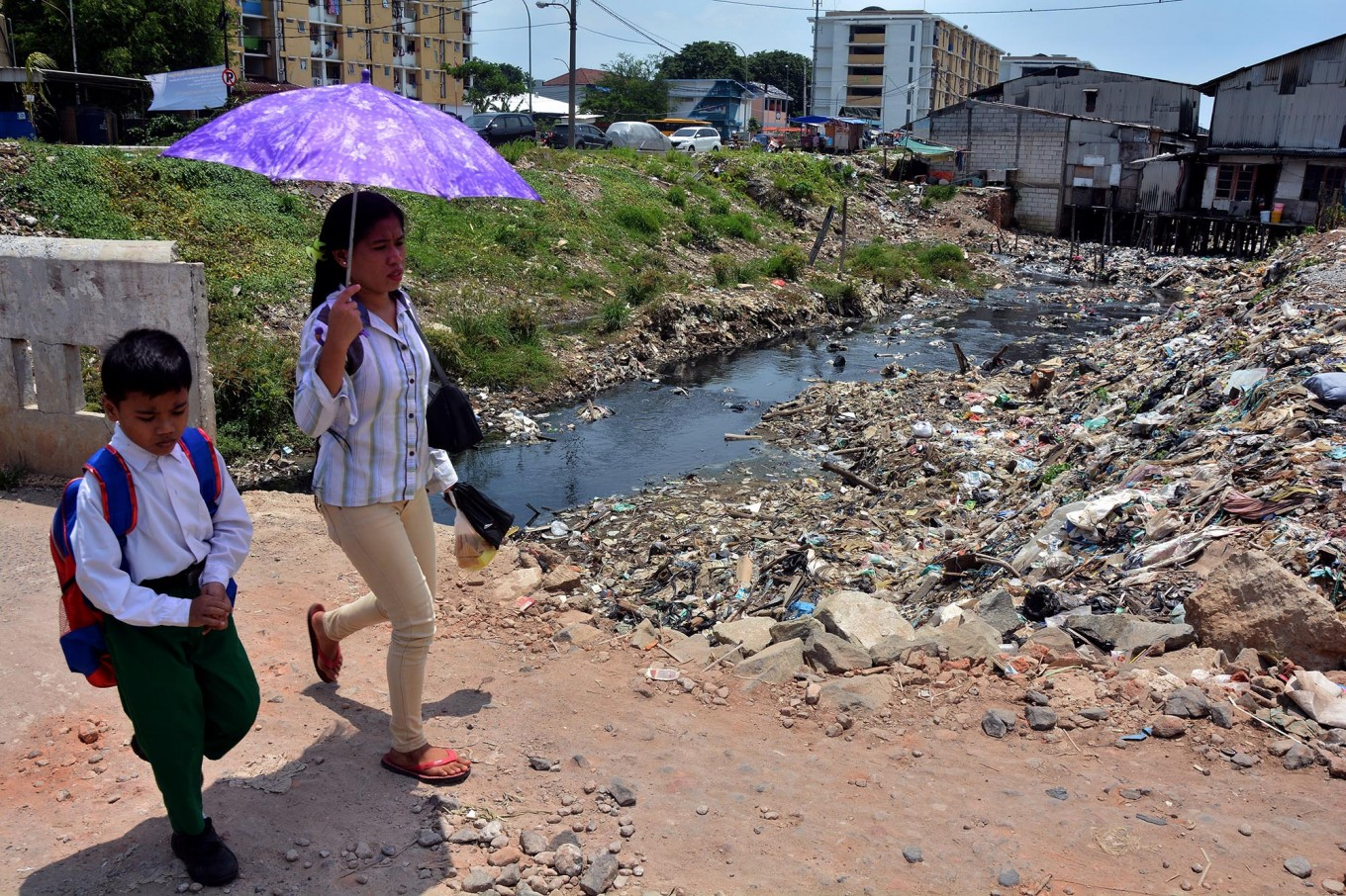 Jakarta's river water severely polluted: Bappenas