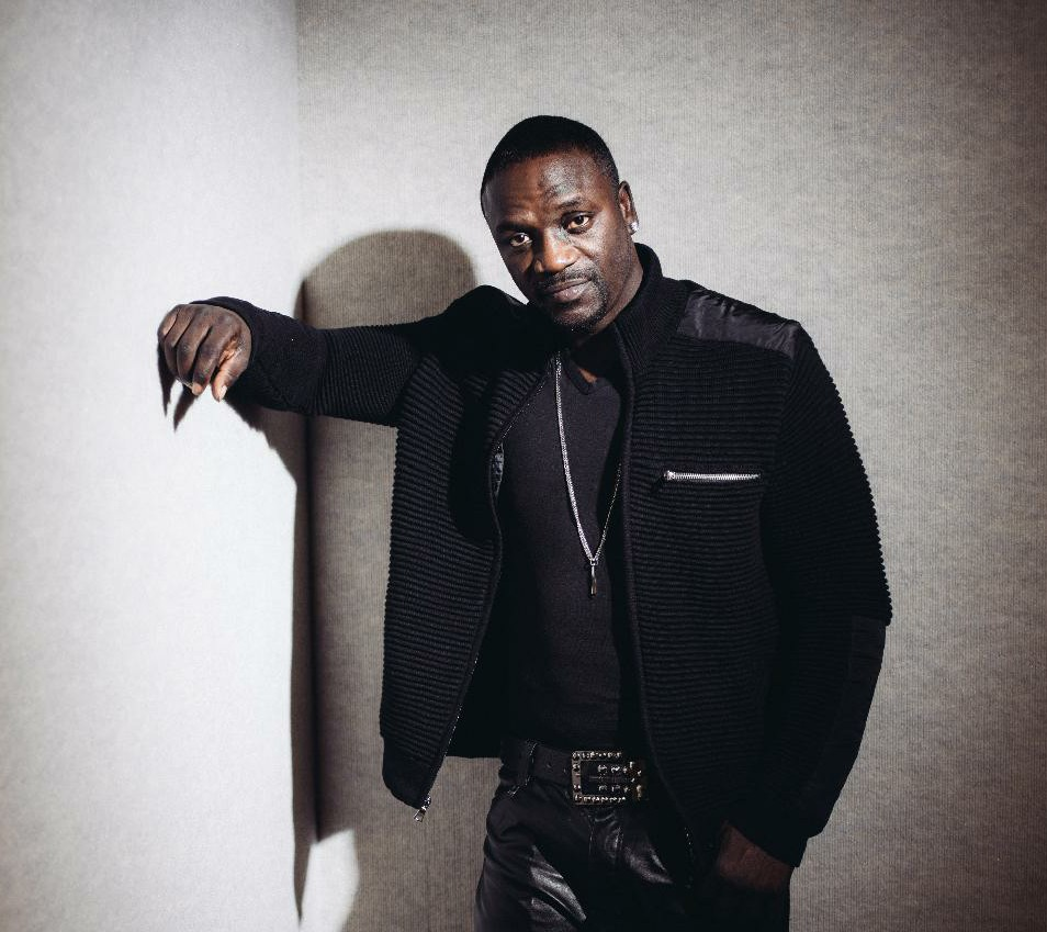 AKON in town to light up remote regions