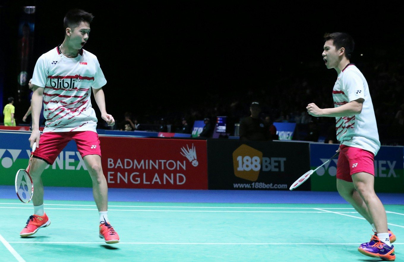 Tontowi Liliyana and Kevin Marcus reach All England Open quarters