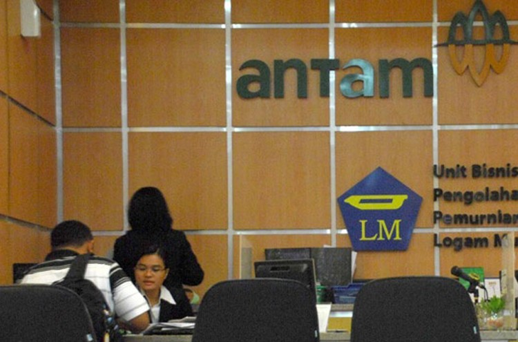 State miner Antam 'strikes gold' in third quarter