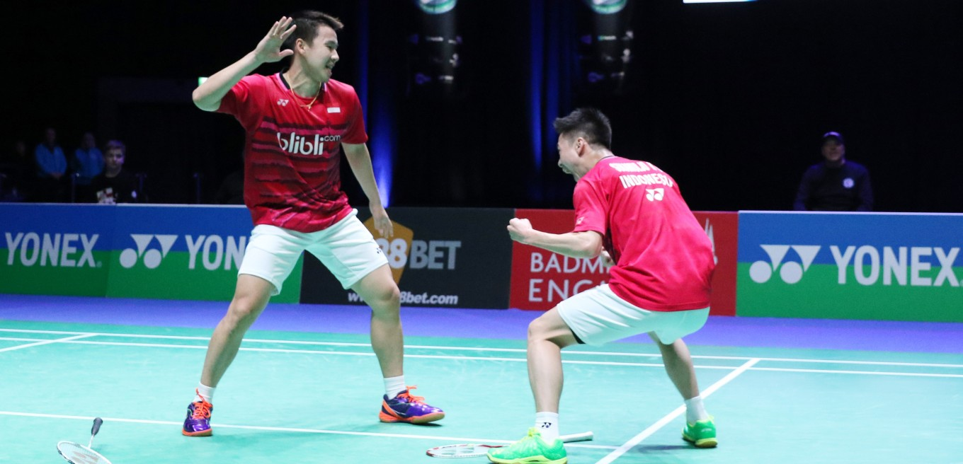 Kevin Marcus into All England semis Tontowi Liliyana stopped by