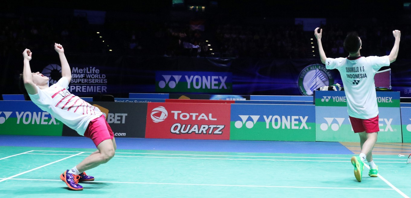 Kevin Marcus closer to first All England Open title World